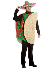 Mexican Taco Adult Costume  sc 1 st  Funidelia. Your Fancy Dress and Halloween Costumes online shop. & Adults Chinese Takeaway Costume
