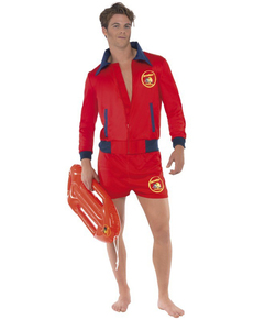 360990234a50 Alluring Lifeguard Adult Costume