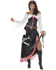 Disfraz de pirata aventurera para mujer. Have Fun! | Funidelia
