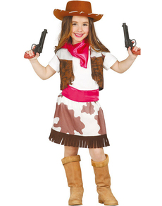 Girls Rodeo Cowgirl Costume  sc 1 st  Funidelia & Cowgirl costume for a girl. Fast delivery | Funidelia