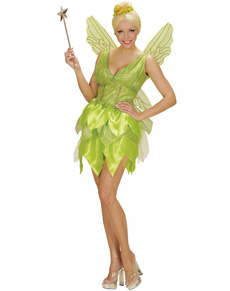 Fantasy fairy costume for a woman  sc 1 st  Funidelia & Womenu0027s Bell Fairy Costume