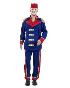 Disfraz de presentador de circo retro para hombre