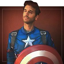 Fantasias Capitão América