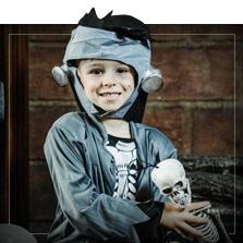 Stroje na Halloween dla chłopca