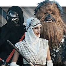 Fantasias de Star Wars
