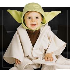 Stroje Star Wars dla niemowląt