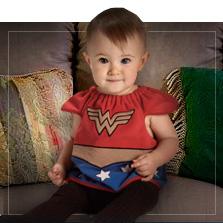 Fantasias Super-heróis para Bebé