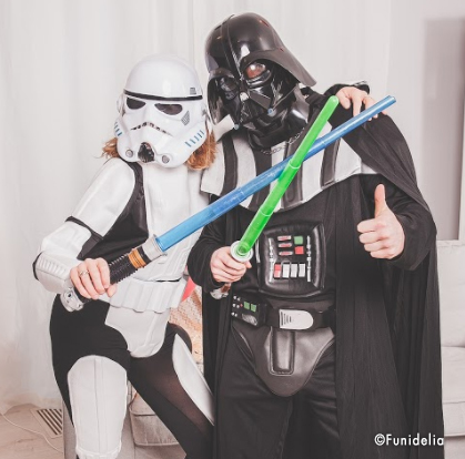 Star Wars Costumes! Come to the dark side, May the force be with you!