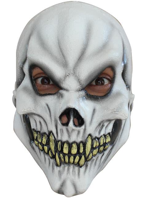 Masker schedel wit