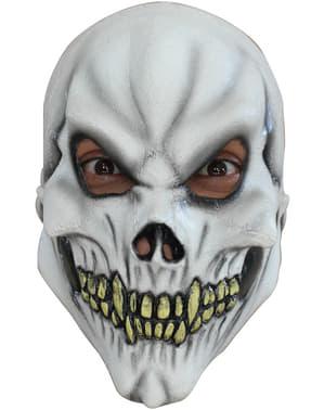 Черепна бяла маска