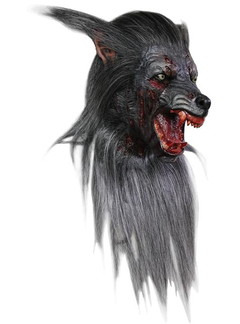 Masker zwarte wolf