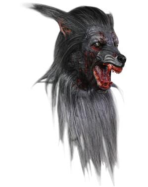 Zombiewolf Maske
