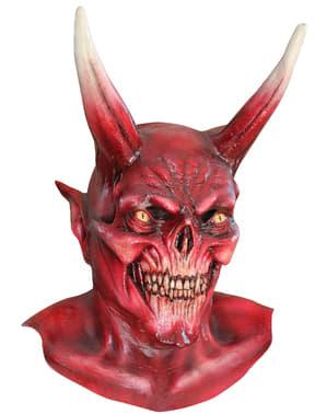 Maska červený ďábel