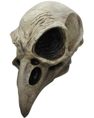 Маска на гарван скелет