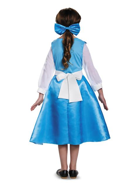 Disfraz de Bella azul para adolescente - La Bella y la Bestia
