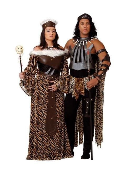 תלבושות המלך האפריקני