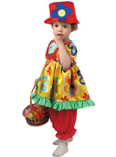 Lite Klovne Kostyme Baby