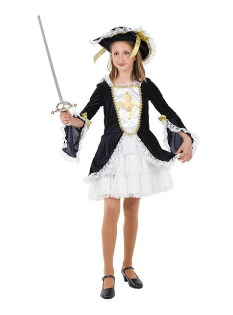 Musketier Kostuum voor meisjes