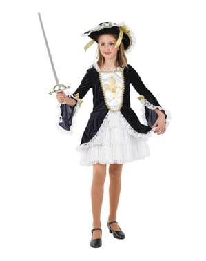 Pige musketer kostume