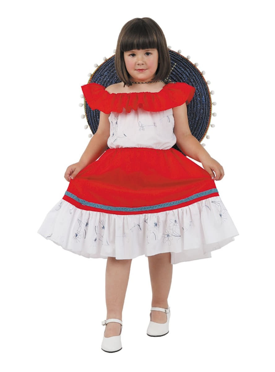 Girls Mexican Costume