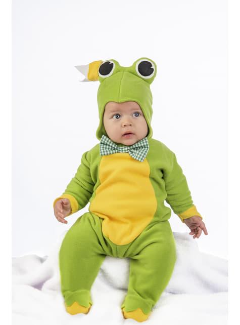 Disfraz de ranita elegante para bebé