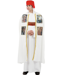 Disfraz de obispo medieval