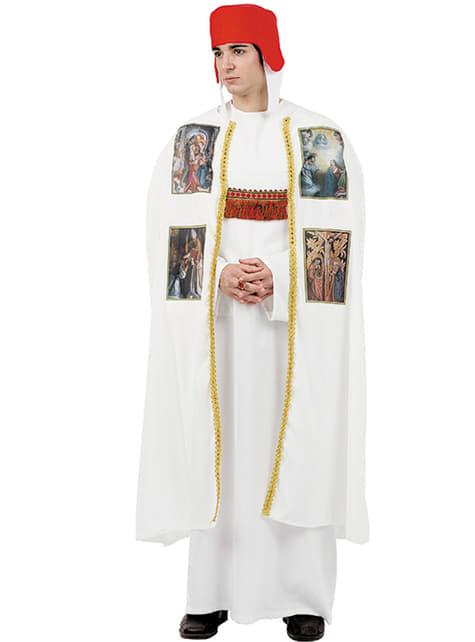 Middeleeuwse bisschop kostuum