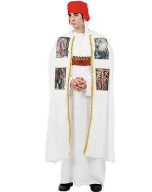 Déguisement d'évêque médiéval