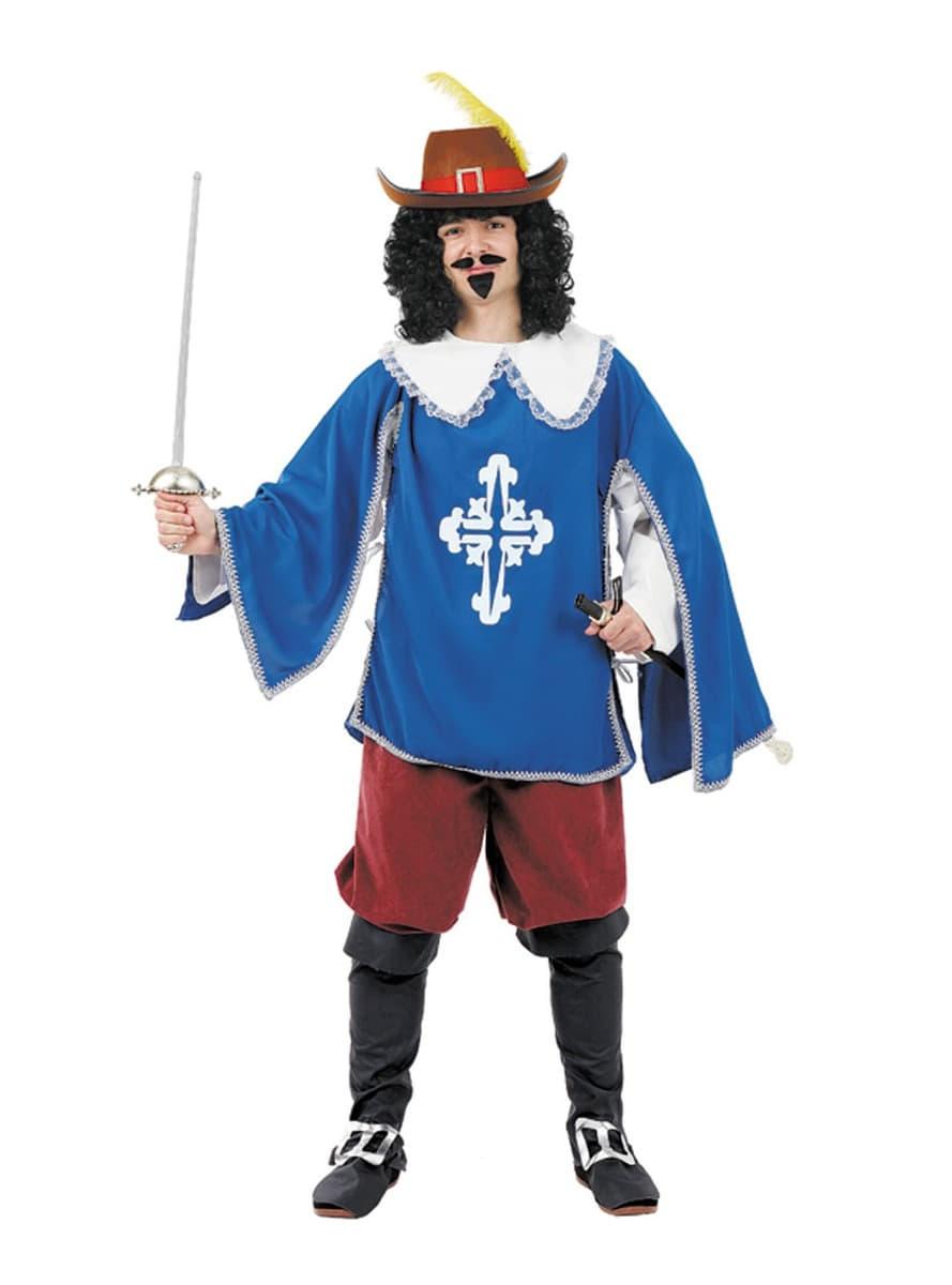 Disfraz de mosquetero azul funidelia - Disfraz casero mosquetero ...
