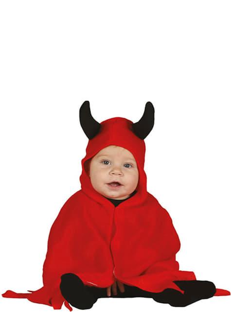 Disfraz de demonio adorable para bebé