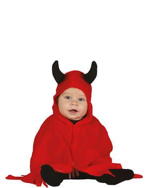 Fato de demónio adorável para bebé