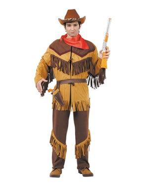 Cowboy fra det vilde vest kostume