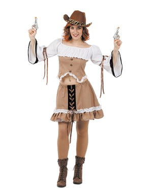 Ville Vesten Cowgirl-Kostyme