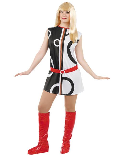 Yeah-yeah meisje kostuum