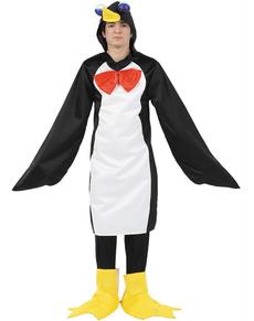 Disfraz de pingüino adulto