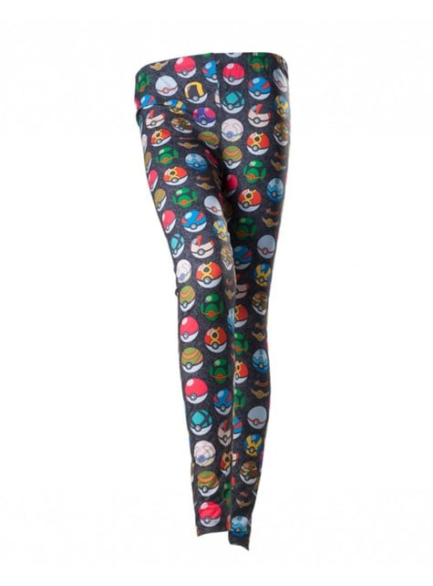 Pokeball Pokemon leggings for women