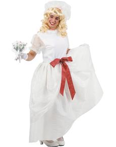Disfraz de novia hombre
