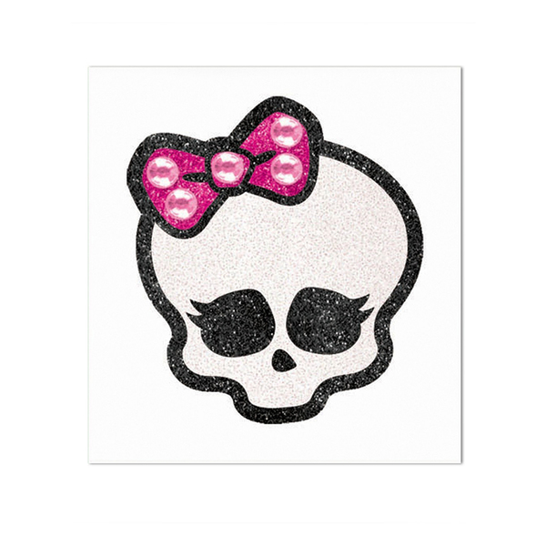 Tatouage T  Te De Mort Monster High