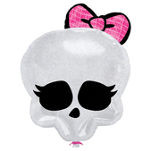 Globo calavera Monster High