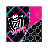 Kit de servilletas Monster High