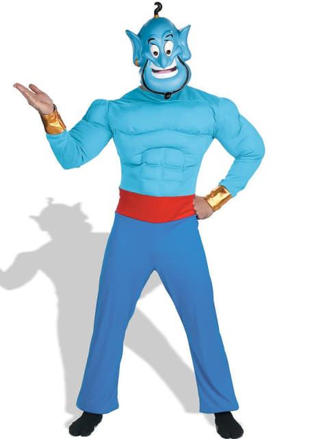 Fato de Génio da Lâmpada de Aladdin