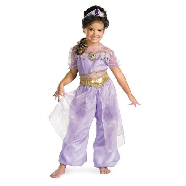 Princesa Jasmine, Disfraz casero y maquillaje de Jasmine |