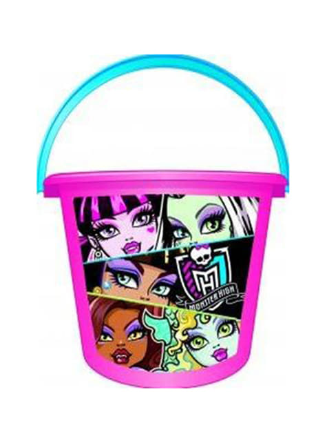 Cubo de areia Monster High