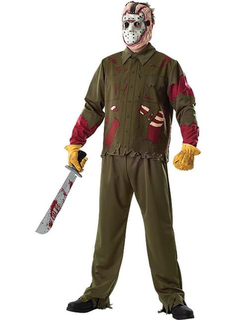 Jason Friday the 13th kostuum deluxe