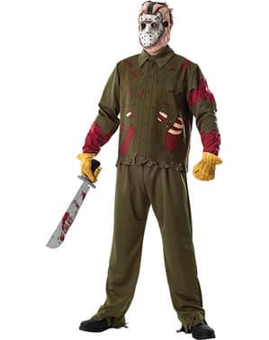 Jason Kostüm Deluxe aus Freitag der 13.