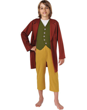 Fato de Bilbo Baggins The Hobbit para menino