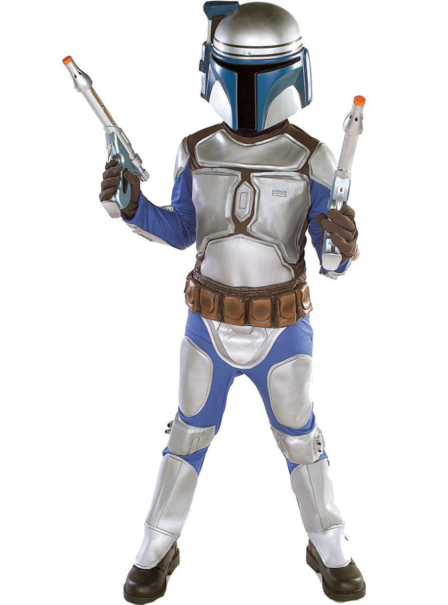 costume de jango fett haut de gamme pour gar on les plus amusants funidelia. Black Bedroom Furniture Sets. Home Design Ideas
