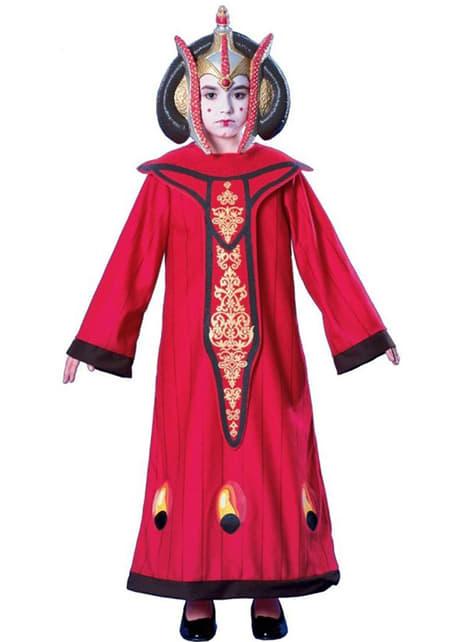 Drottningen Padme Amidala Maskeraddräkt Barn