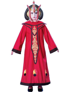 Dronnign Padme Amidala kostume til piger