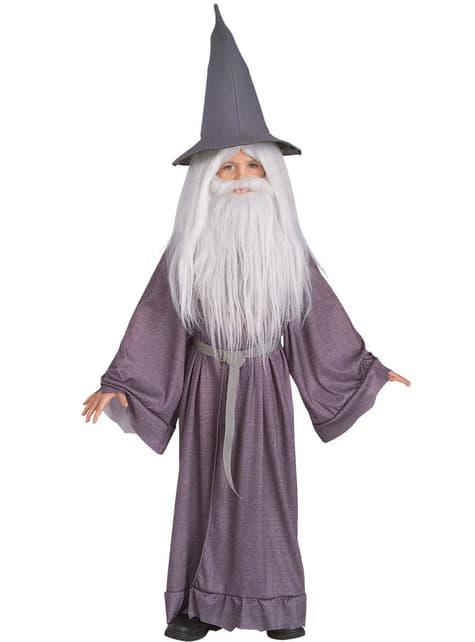 Disfraz de Gandalf el Gris para niño